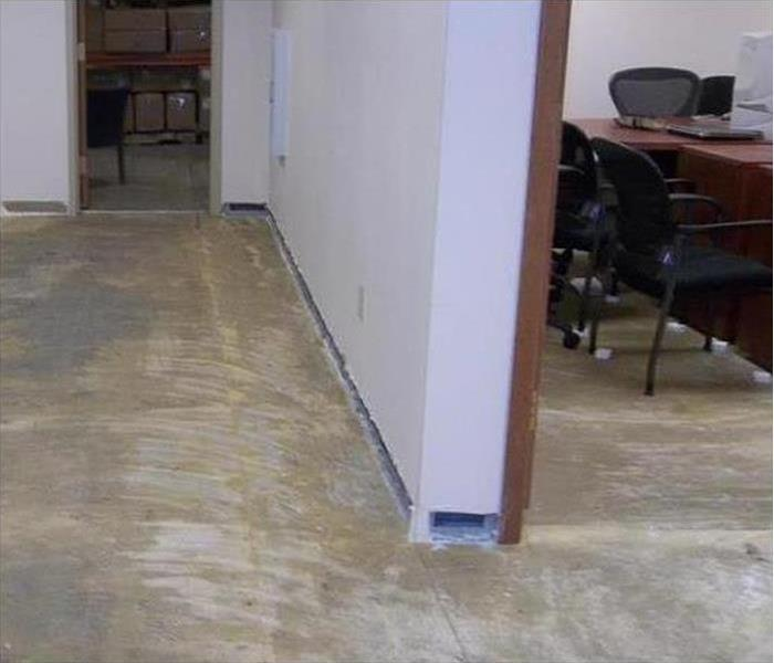 Commercial Water Damage – Tampa Office After