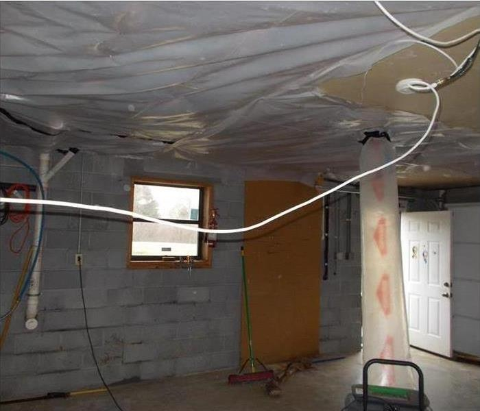 Mold Remediation in a Tampa Garage