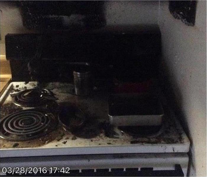 Fire damage – Tampa Kitchen