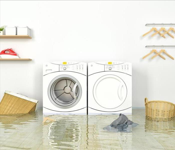 Water Damage Water Damage in Your Tampa Home From a Washing Machine Hose