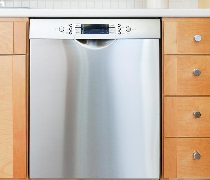water damage cleanup after a dishwasher leak in your tampa home servpro of west tampa. Black Bedroom Furniture Sets. Home Design Ideas